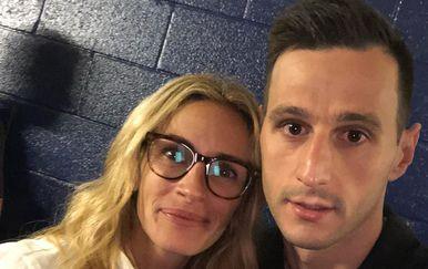 Julia Roberts, Nikola Kalinić (Foto: Instagram)