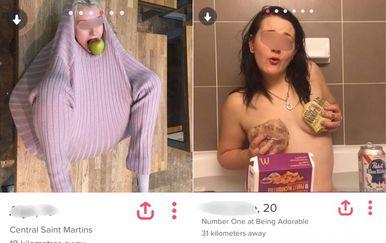 Tinder profili (Foto: collegehumor.com)