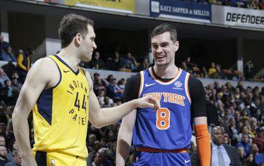 Bojan Bogdanović i Mario Hezonja (Foto: AFP)