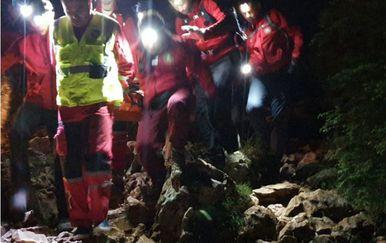 Akcija spašavanja (Foto: GSS u BiH)