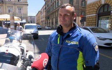 Prometni policajac Davor Grgić (Foto: Dnevnik.hr)