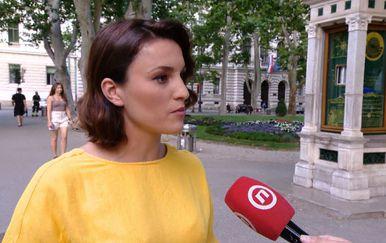 Meterologinja Damjana Ćurkov (Foto: Dnevnik.hr)