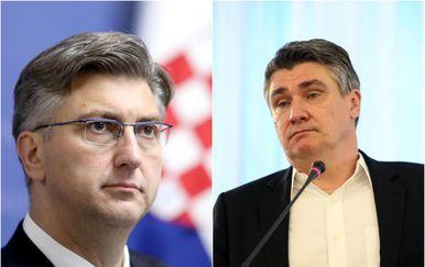Andrej Plenković i Zoran Milanović (Foto: Pixsell)