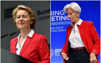 Ursula von der Leyen i Christine Lagarde (Foto: AFP)