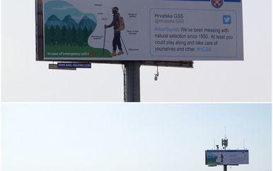 HGSS-ov plakat za planinare (Foto: HGSS)