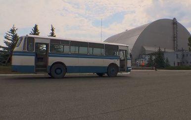 U Černobilu je predstavljen novi sarkofag reaktora (Foto: Dnevnik.hr)