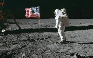 Buzz Aldrin na Mjesecu