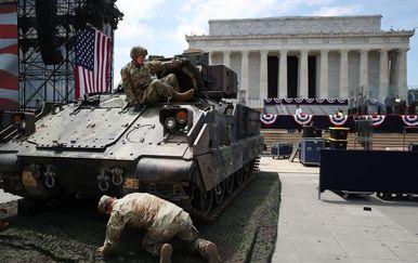 Pripreme za proslavu Dana nezavisnosti u SAD-u (Foto: AFP)