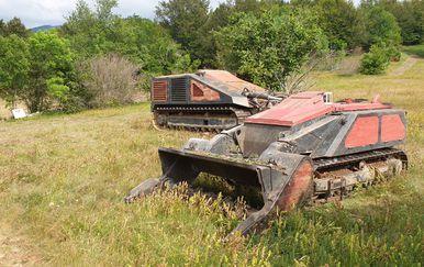 Minsko polje na kojem je stradao pirotehničar (Foto: Robert Labrović)