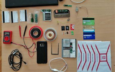 Policija pronašla skimmer (Foto: PU splitsko-dalmatinska)