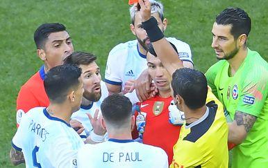 Messi isključen na Copa Americi (Foto: AFP)