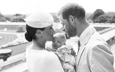 Archie Harrison Mountbatten-Windsor, sin Meghan Markle i princa Harryja kršten je u subotu 6. srpnja - 1