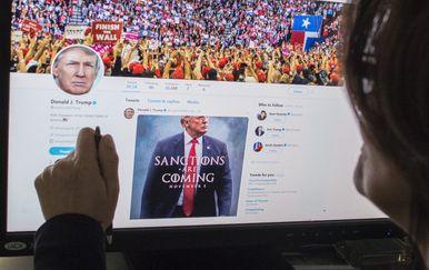 Donald Trump na Twitteru