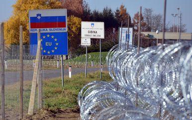 Migranti, Slovenija, ilustracija (Foto: Marko Jurinec/PIXSELL)