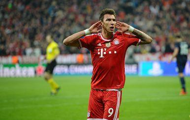 Mario Mandžukić u dresu Bayerna (Foto: Revierfoto/DPA/PIXSELL)