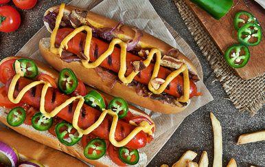 Ilustracija hot-doga
