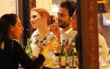 Jessica Chastain i Gian Luca Passi de Preposulo (Foto: Profimedia)