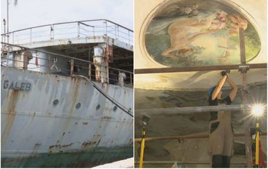 Titov brod Galeb i palača Šećerane (Foto: Dnevnik.hr)