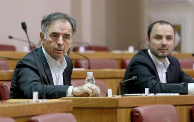 Milorad Pupovac i Boris Milošević (Foto: Patrik Macek/PIXSELL)
