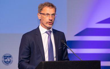 Guverner HNB-a Boris Vujčić (Foto: Grgo Jelavic/PIXSELL)