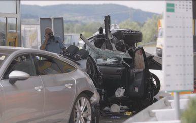 Nesreća na naplatnim kućicama Sv. Helena (Foto: Dnevnik.hr) - 2