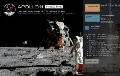 Misija Apollo 11 uživo