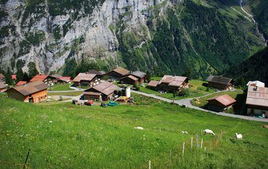 Gimmelwald, Švicarska - 1