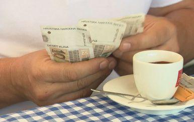 Plaćanje kave, ilustracija (Foto: Dnevnik.hr)