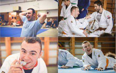 Matej Malešević mladić je na kojeg se mnogi mogu ugledati (Foto: Judo klub osoba s invaliditetom Fuji)