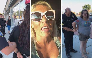 Uhićenje ženske bande (Foto: Facebook)