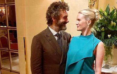 Michael Sheen i Anna Lundberg (Foto: Instagram)