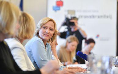 Pučka pravobraniteljica Lora Vidović (Foto: Pixsell,Sandra Simunovic)