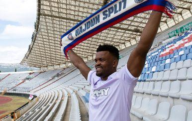Samuel Edouk (Foto: Robert Matić / Hajduk.hr)