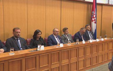 Kandidati za pozicije ministara pred Saborom (Foto: Dnevnik.hr)