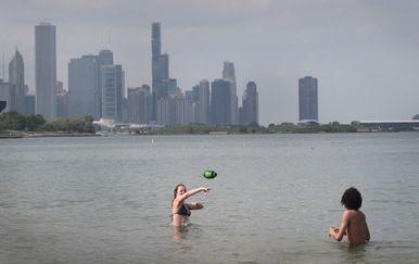 Vrućine, ilustracija (Foto: AFP)