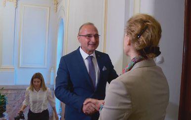 Marija Pejčinović Burić i Gordan Grlić Radman (Foto: Dnevnik.hr)