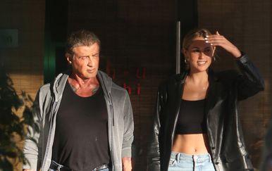 Sylvester Stallone, Scarlett Stallone (Foto: Profimedia)