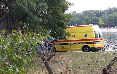 Hitna pomoć na Jarunu (Foto: Dnevnik.hr)