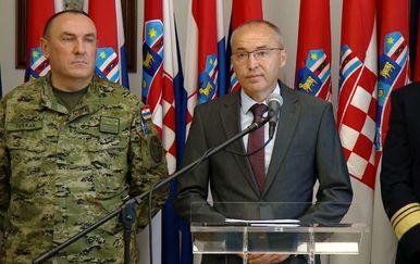 MORH sazvao izvanrednu konferenciju za medije nakon stradavanja hrvatskih vojnika u Afganistanu (Foto: Dnevnik.hr) - 1