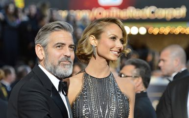 George Clooney i Stacy Keibler (Foto: Getty Images)