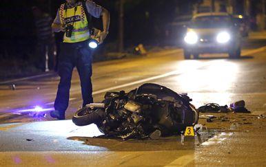 Teška prometna nesreća kod Šibenika (Foto: Pixsell,Dusko Jaramaz)1 - 3