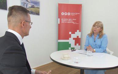 Ivana Petrović i Peter Sijarto(Foto: Dnevnik.hr)