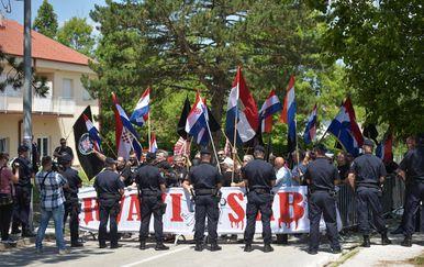 Obljetnica Ustanka u Srbu (Foto: Dino Stanin/PIXSELL)