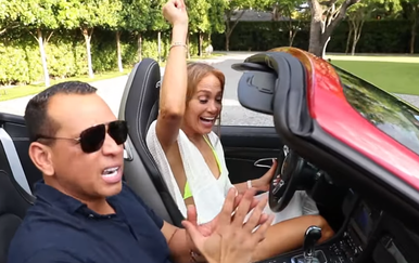 J.Lo i Alex Rodriguez (Foto: Screenshot)