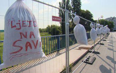 Ljeto na Savi (Foto: Dnevnik.hr)