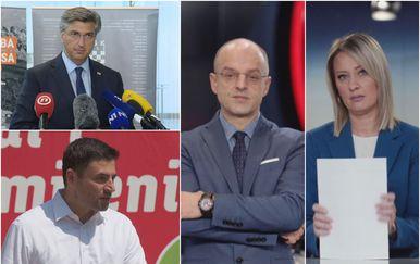 Andrej Plenković, Davor Bernardić, Mislav Bago i Sabina Tandara Knezović