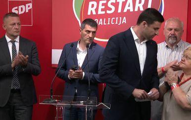 Bernardić umalo zaboraviti čestitati HDZ-u