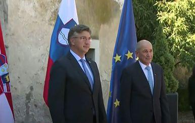 Plenković i Janša - 2