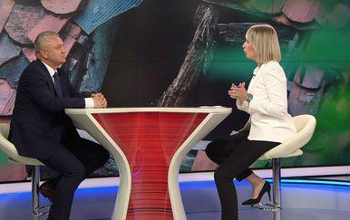 Ministar Darko Horvat u Dnevniku Nove TV