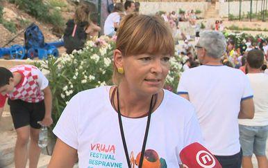 Bruna Fistanić, organizatorica prosvjeda protiv bespravne gradnje